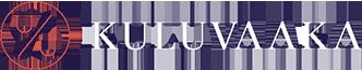 Kuluvaaka logo valkoinen